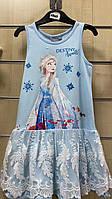 Платье на девочку оптом, Disney, 3-8 лет,  № 02068