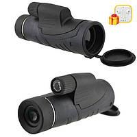 Монокуляр Binoculars 40x60 TJ с двойной фокусировкой с чехлом + Подарок! Наушники Apple