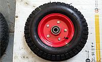 Колесо на тачку пневматическое 4.0 - 8 D16 мм