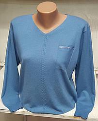 Молодежная женская кофта с V образным вырезом горловины