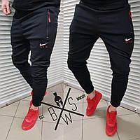 Спортивные штаны мужские Nike AIR x black весенние / летние
