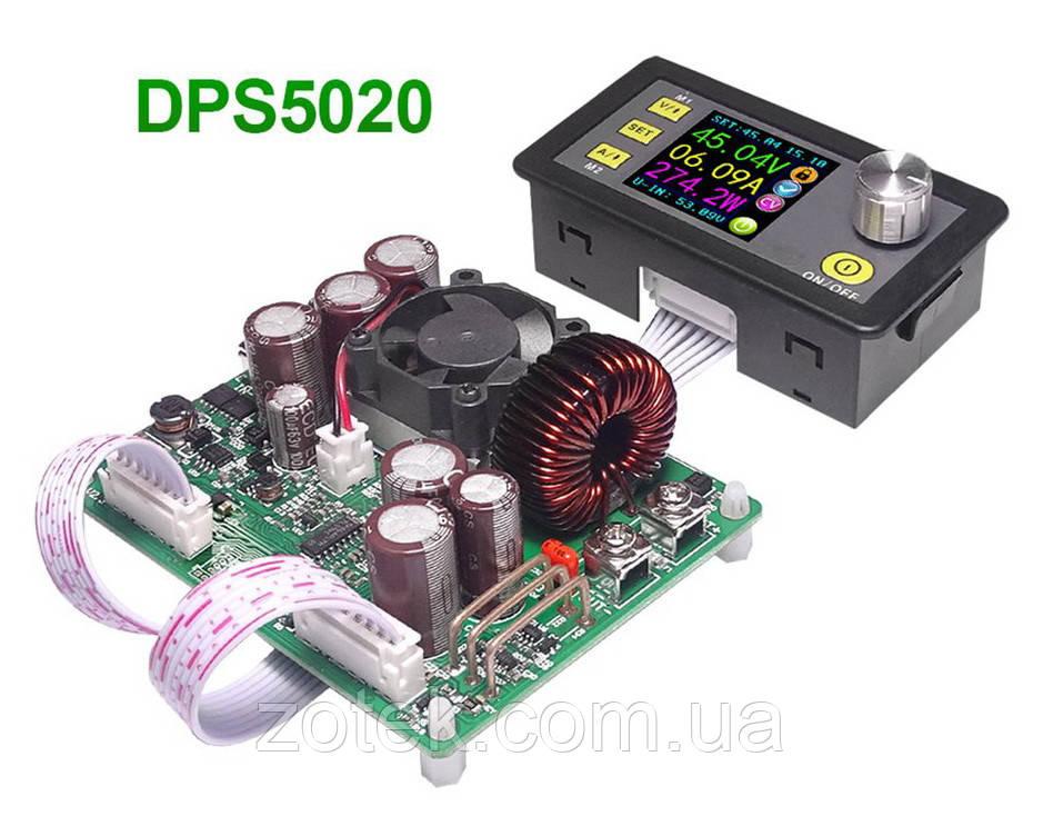 RIDEN DPS5020 (V2.6) 0-50V 0-20A 1000Вт Лабораторный Понижающий блок модуль питания с цифровым управлением