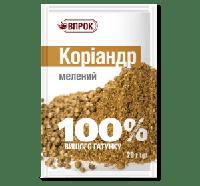 """Кориандр молотый 20 г  ТМ """"Впрок"""""""
