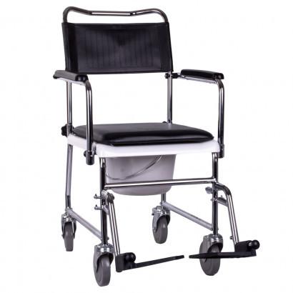 Крісло-каталка з санітарним оснащенням OSD-JBS367A
