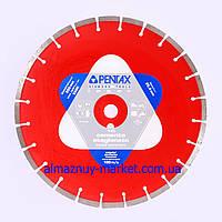 Пила алмазная для резки бетона d350*25,4mm PENTAX 1С