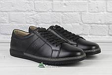 Шкіряні кросівки чоловічі з прошитою підошвою 40р, фото 2