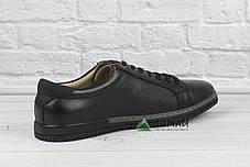 Шкіряні кросівки чоловічі з прошитою підошвою 40р, фото 3