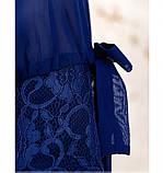 Платье женское прямого кроя цвет-электрик, фото 2