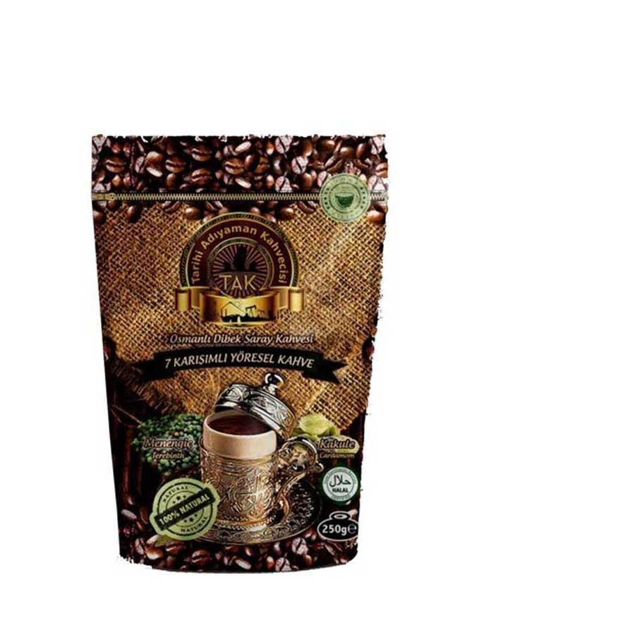 Турецкий кофе Тarihi Adıyaman Osmanlı Dibek с кардамоном 250 г
