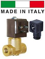 """Электромагн. клапан СЕМЕ (Италия) 8334, НЗ, 1/2"""", 90 C, 220В нормально закрытый для воды, воздуха"""