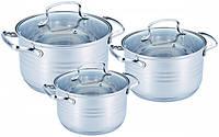 Набор посуды Benson BN-201 из 6 предметов кастрюли