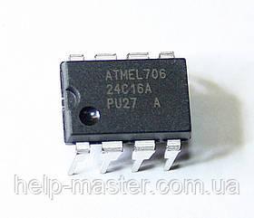 Мікросхема 24C16A (DIP8)
