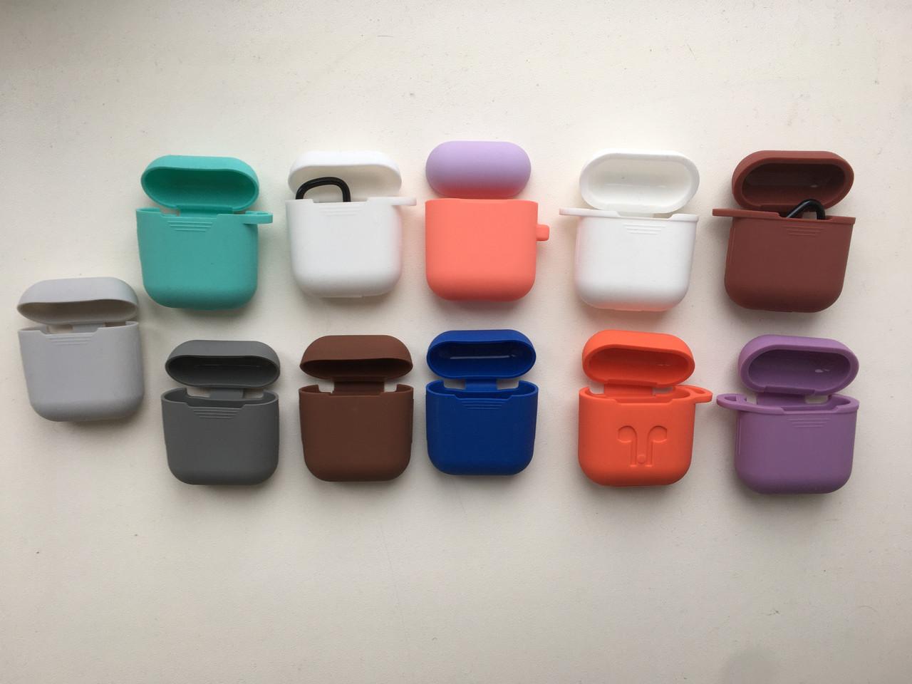 Чехол-накладка силикон Карабин  для Apple AirPods