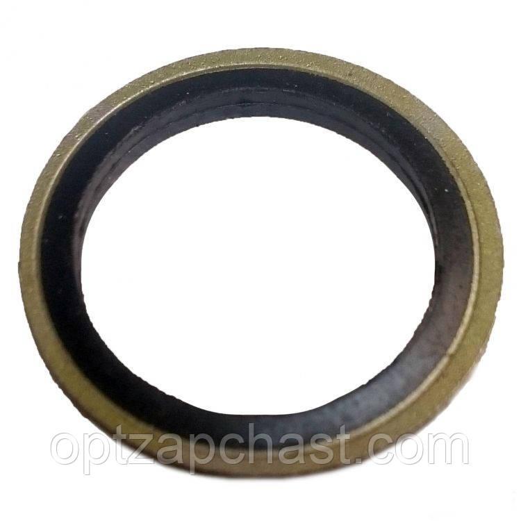Уплотнительное металлорезиновое кольцо Ф6