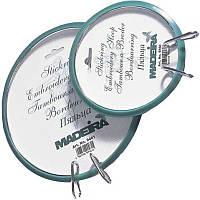 9461 Пяльцы Madeira пружинные для вышивания и штопки, диаметр 180 мм, Германия