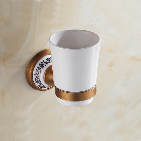 Стан для зубных щеток Art Design Deco одинарный бронза