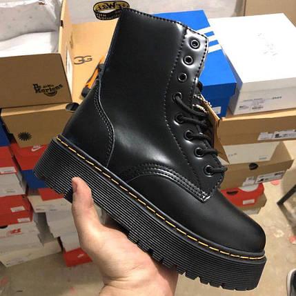 Женские зимние ботинки Dr. Martens Jadon | Platform Boots с мехом, фото 2