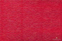 Гофрированная креп-бумага #586 красная (Carmino Red)