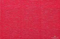 Гофрированная креп-бумага #582 светло-красная (Light Red)