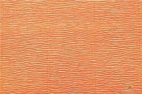 Гофрированная креп-бумага #581 оранжевая (Fluo Orange)