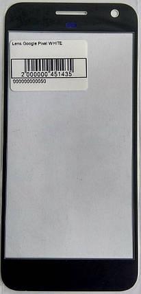 Стекло модуля для Google Pixel White, фото 2