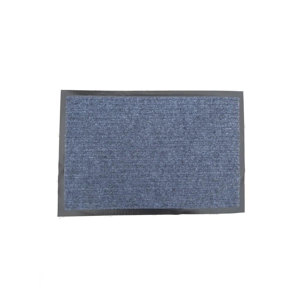 Коврик входной Ребро 60x90 Серый, серый