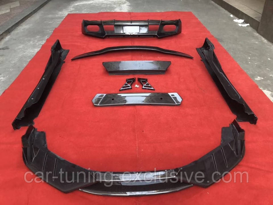 MANSORY front add on lip for Lamborghini Huracan