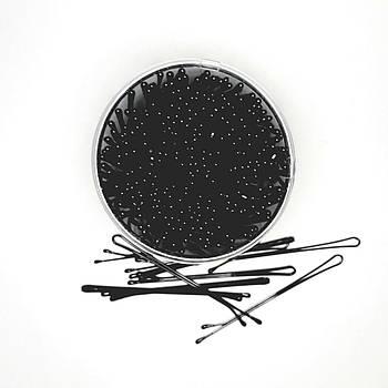Невидимки для волос рифленые, 50 см, в банке
