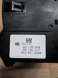Блок керування освітленням для Opel Astra G Zafira A 09133249, 09138347, фото 3