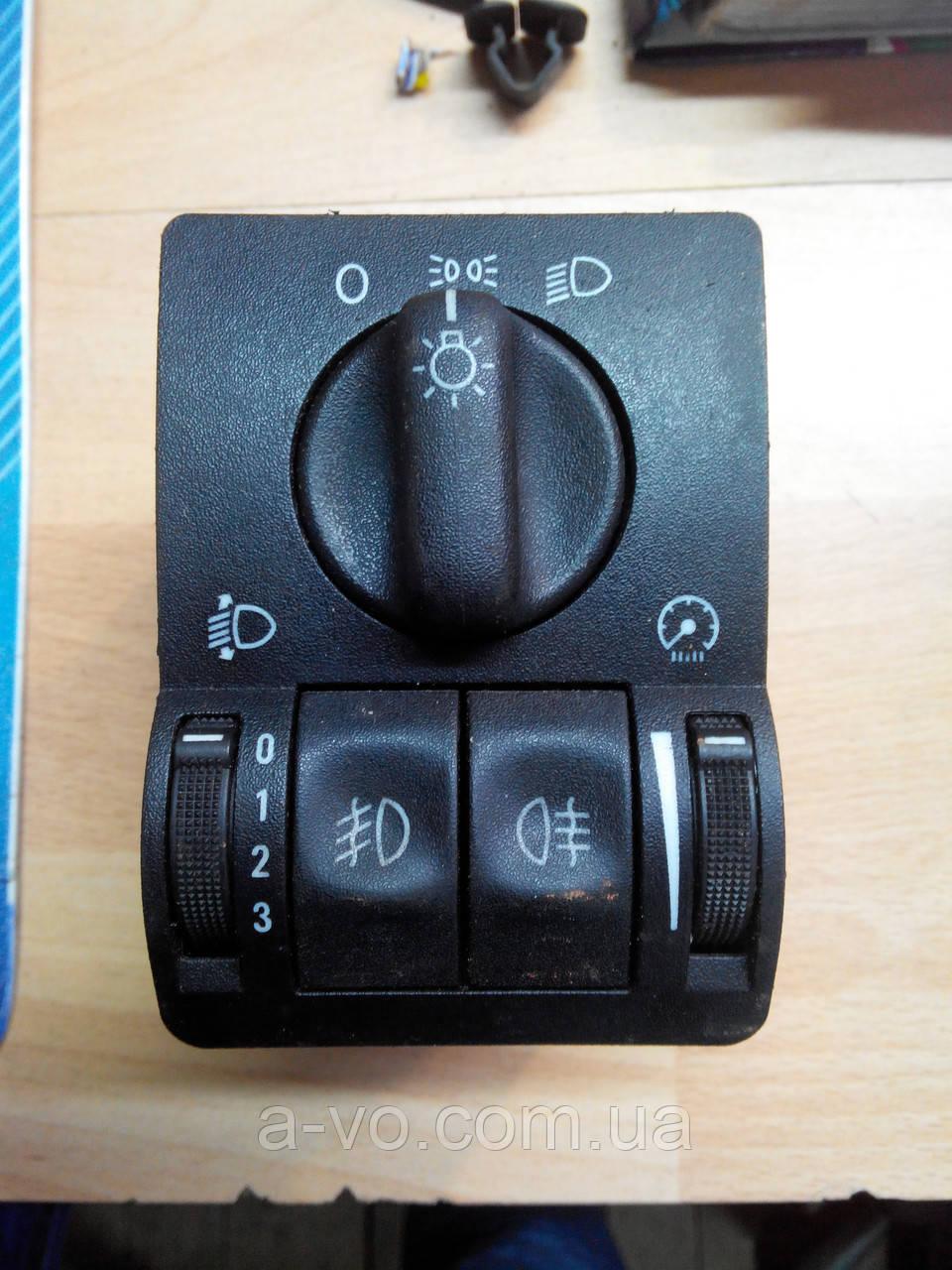 Блок управления освещением для Opel Astra G Zafira A 09133249, 09138347