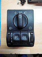Блок управления освещением для Opel Astra G Zafira A 09133249, 09138347, фото 1