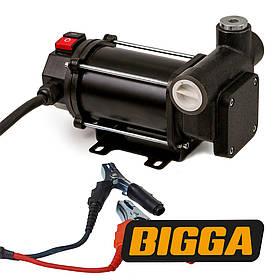 Bigga BP-DC60-12 Насос для перекачивания ДТ, Питание 12 вольт, производительность 60 л/мин.
