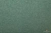 Гофрированная креп-бумага #0234 серо-зеленая