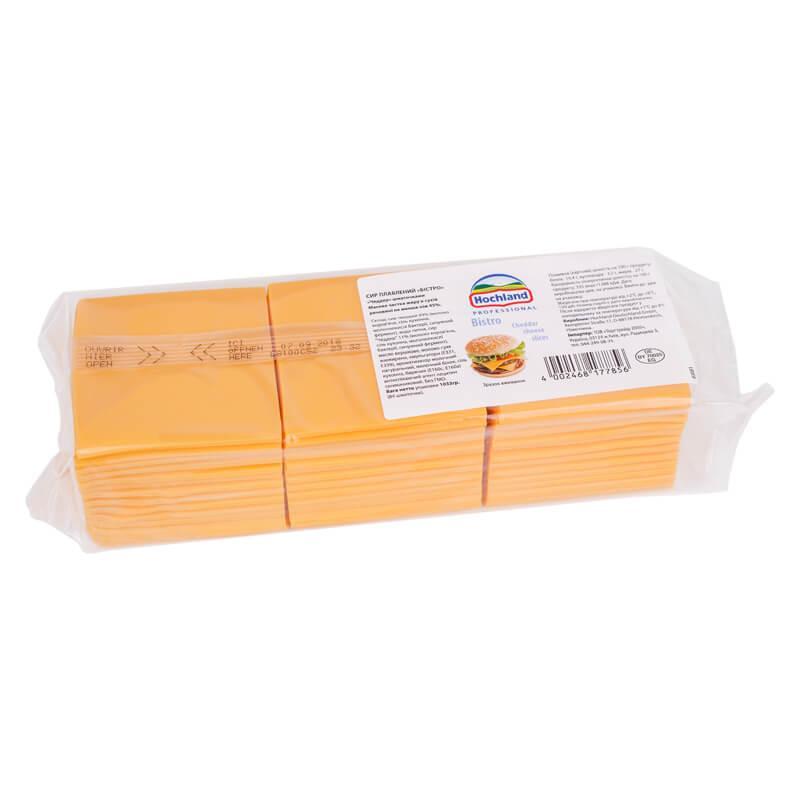 Сыр Чеддер ломтиками Hochland(1,033 кг)