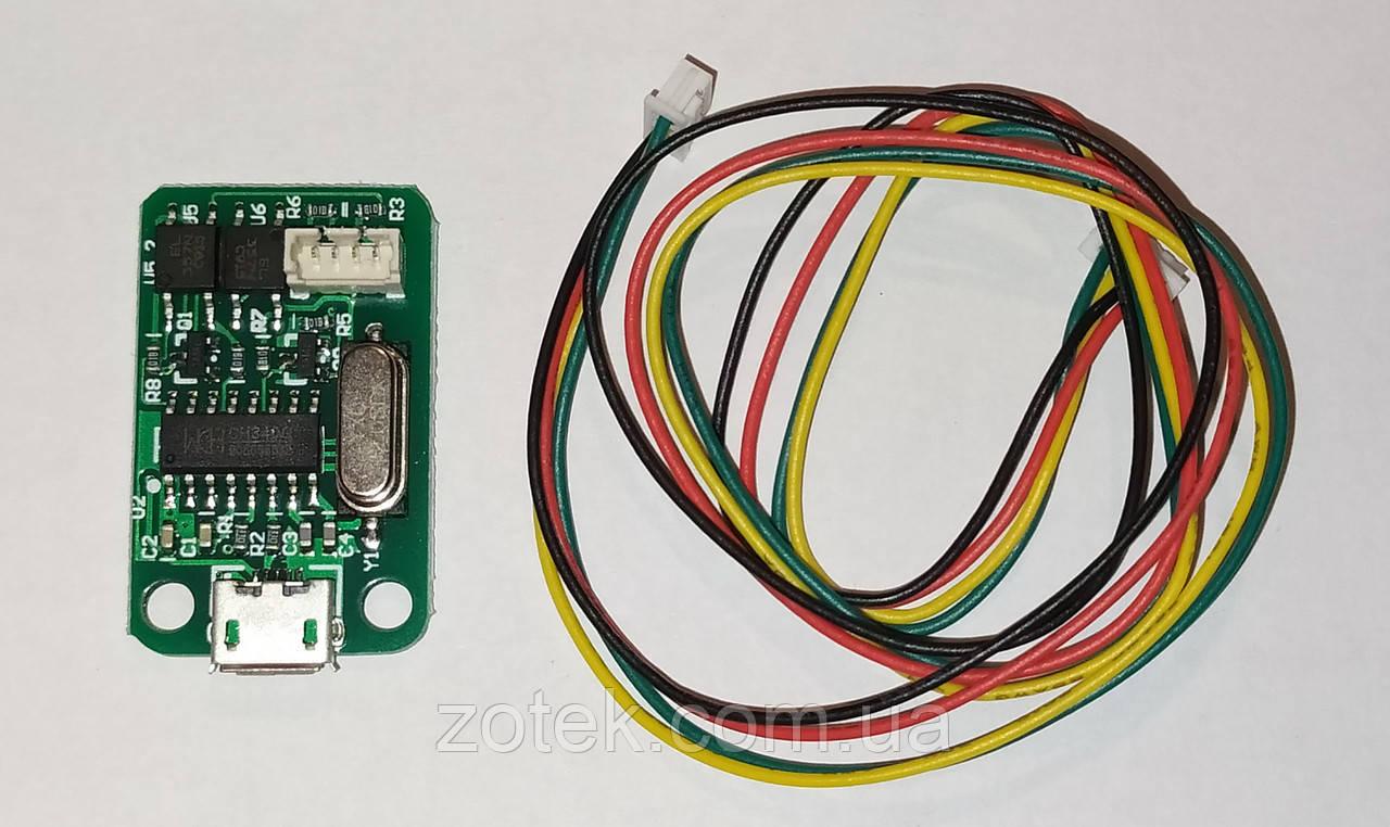 Коммуникационный модуль USB для ЛБП RIDEN DPS5020, DPS5005, DPS3005, DPS5015, DPS8005, DPH5005