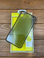 Чехол - накладка Baseus Simple Series Case for iPhone XS Max Transparante Black