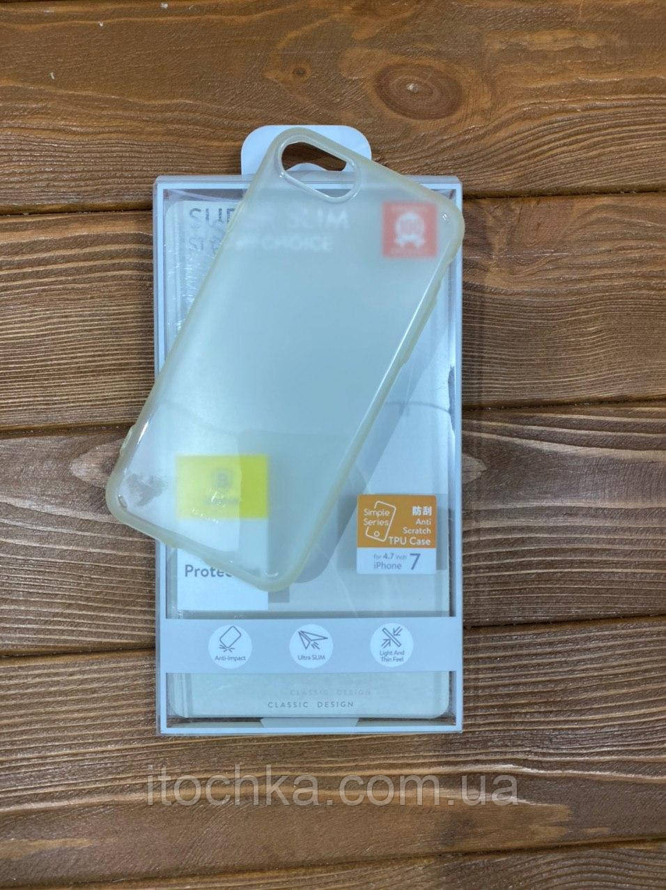 Чохол - накладка Baseus Simple Series Case for iPhone 7 Transparante