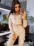 Женский стильный комбинезон брючный с накладными карманами (в расцветках), фото 2