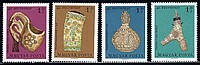 Венгрия 1969 - Прикладное искусство - MNH XF