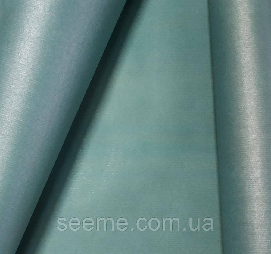 Бумага крафт упаковочная, 1 м, цвет тил (teal)
