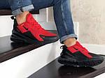Мужские кроссовки Nike Air Max 270 (красно-черные), фото 2