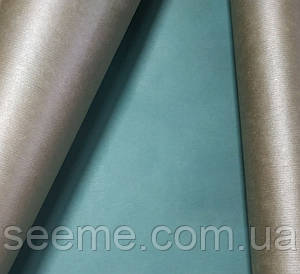 Бумага крафт упаковочная, 1 м, цвет серебряный/тил (teal)