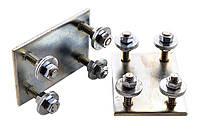 Регулировочные опоры для установки роликовых кареток для ворот до 500 кг