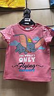 Футболки для девочек (бейби) Dumbo от Disney 6-23 мес.