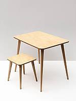 Комплект детского столика и стульчика Simple Plywood