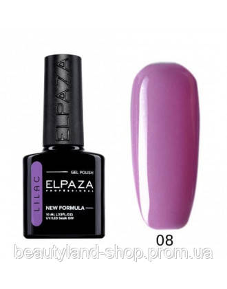 Гель-лак Elpaza Lilac 008 (Флоренция) 10 мл