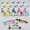 Пенни борд S 29661 Best Board, 6 видов, колёса PU светящиеся