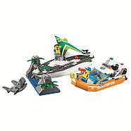 """Конструктор Bela 10752 (Аналог Lego City 60168), 206 дет. """"Операция по спасению парусной лодки"""", фото 2"""