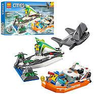 """Конструктор Bela 10752 (Аналог Lego City 60168), 206 дет. """"Операция по спасению парусной лодки"""", фото 3"""