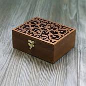 Скринька фанера вологостійка ручна робота прорізний малюнок